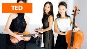 [TED] Ahn Trio: A modern take on piano, violin, cello