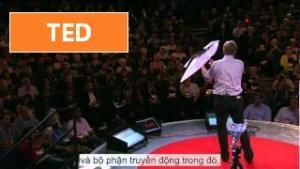 [TED] Markus Fischer: A robot that flies like a bird