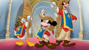 MICKEY, DONALD. GOOFY THE THREE MUSKETEERS